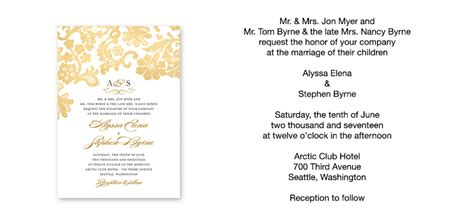 wording for invitation wedding invitation wording sle verses by wedding paper