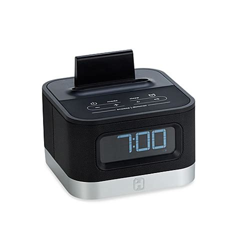 android clock radio ihome 174 ic50bc alarm clock radio for android smart phones bed bath beyond