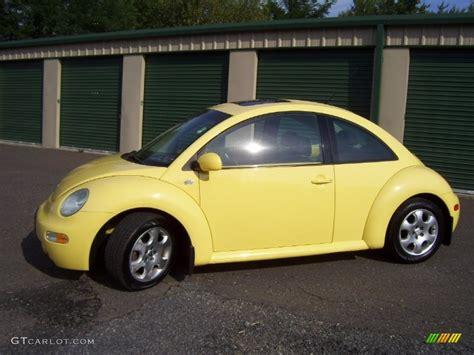 volkswagen beetle colors 2003 sunflower yellow volkswagen new beetle gls coupe
