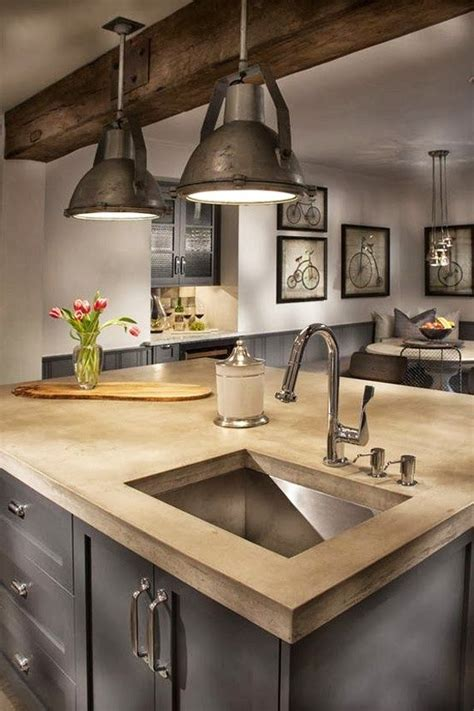 Industrial Style Kitchen Lights Industrial Farmhouse Kitchen Favorite Kitchen Styles