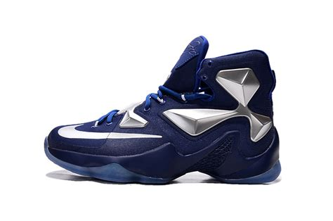cheap basketball shoes for cheap nike lebron 13 blue metallic silver basketball