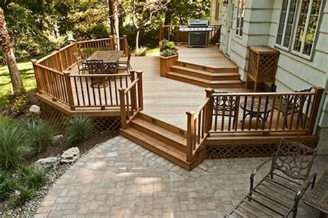 decks and patios designs cool backyard deck design idea 7 futurist architecture