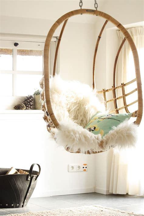 Captivating home teenage bedroom design ideas combine impressive transparent standing hammock