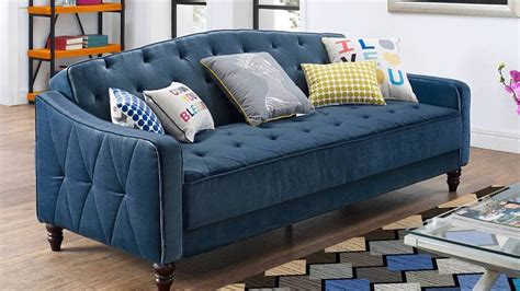 novogratz vintage tufted sofa sleeper ii 9 by novogratz vintage tufted sofa sleeper ii