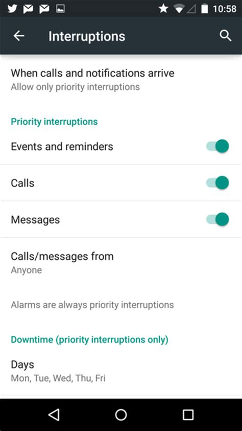 notifications android settings how to use android lollipop s new notifications settings greenbot