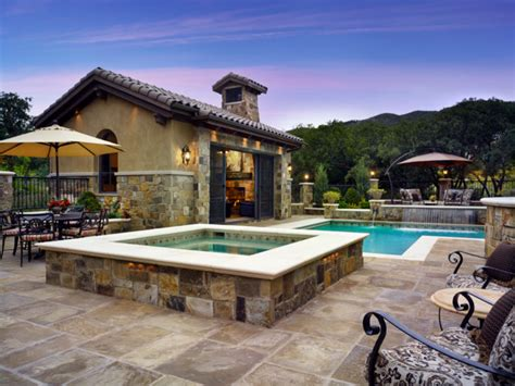 Casita House Plans by Colorado Tuscan House And Pool Mediterranean Pool