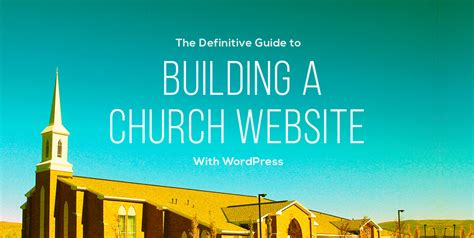 build a house website building a church website with