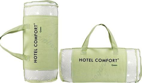 bamboo pillow hotel comfort hotel comfort hypoallergenic bamboo memory foam pillow