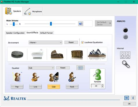 format audio realtek how to use realtek hd audio manager to boost pc sound
