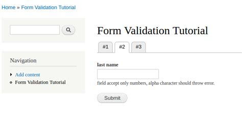 form validation pattern php learning about form field validation in drupal 7