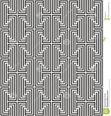 pattern line black zigzag pattern with line in black and white royalty free