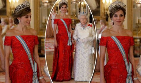 Elizabeth Clashes With New In Laws by Letizia Of Spain Steals The Spotlight In Striking