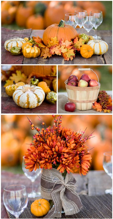bargain challenge fall centerpiece ideas under 15