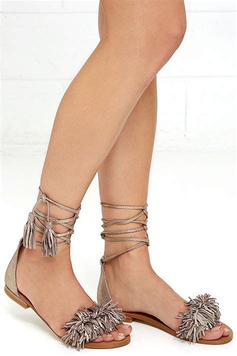 Steve Madden Strutt Wedges by Suede Sandals Lace Up Sandals Flat Sandals 69 00