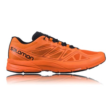 professional running shoes deals salomon sonic pro running shoes ss16 orange