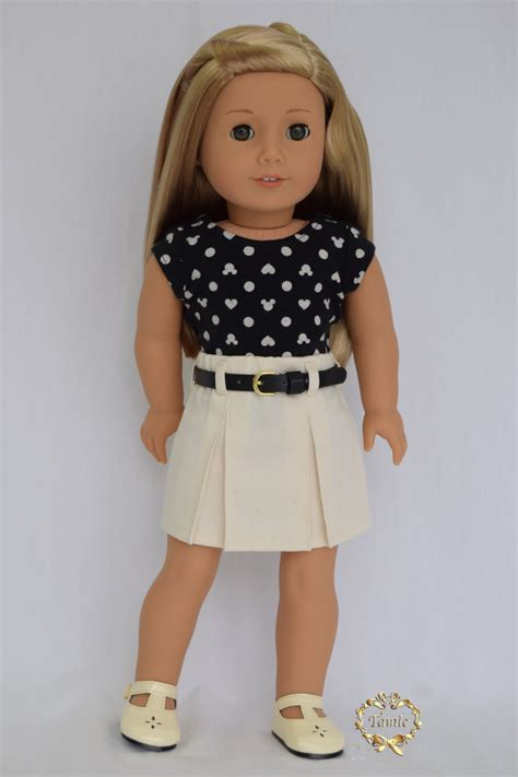 kmart dolls like american american doll clothes skirt 2