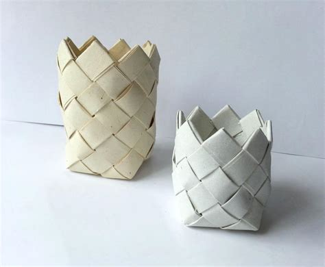 Craft Paper Basket - thrifty recycled paper baskets allfreepapercrafts