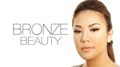 Eyeshadow Kulit Sawo Matang bronze efek makeup untuk kulit sawo matang