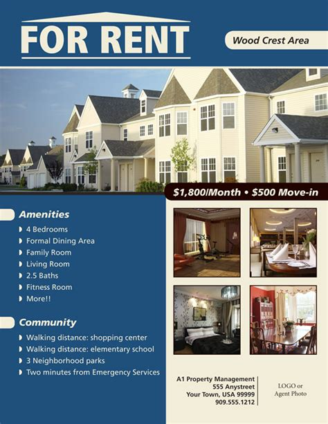 property flyer template free flyers for house renting flyer www for rent flyer