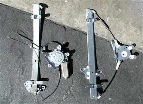 Replacing A Cable Power Window Regulator In A Nissan