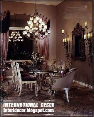 Luxury Dining Room Drapes Modern Luxury Italian Dining Room Furniture Ideas