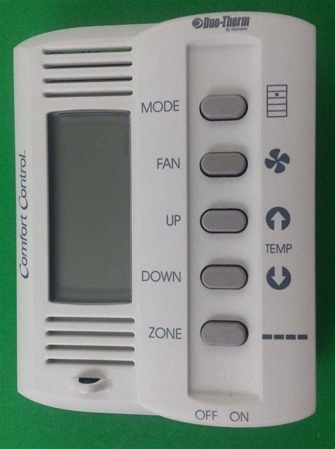 duo therm comfort control duo therm 3109228001 dometic 5 button thermostat comfort