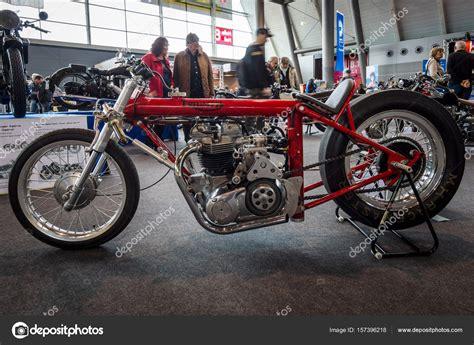 Triumph Motorrad 1970 by Moto Triumph Dragster Hagon 1970 Fotografia De Stock