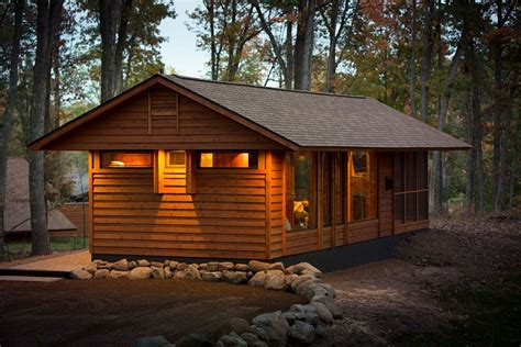 cabin mobile homes with aesthetic design and good comfort escape compact mobile home is aesthetic and eco
