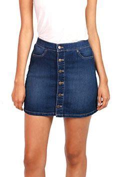 Paneled Denim Flare Mini Skirt plus size button denim skirt top of mind