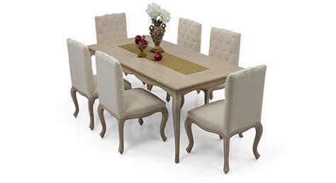 lyon 6 seater dining table set ladder