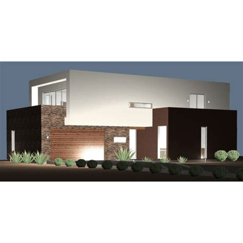 Ultra Modern Contemporary House Plans Ultra Modern Live Work House Plan 61custom Contemporary Modern House Plans