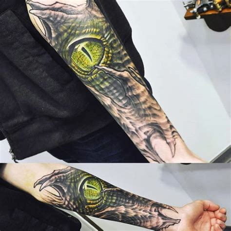 snake eyes tattoo 100 awesome reptile tattoos designs and ideas golfian