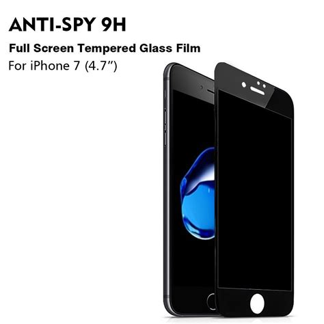Iphone 7 Tempered Glass Genji Premium Cover Lcd apple iphone 7 hd cover 3d 9h touch compatible