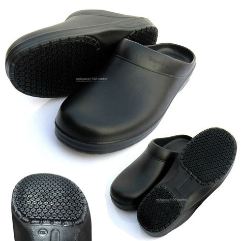 unisex chef shoes kitchen shoes clogs non slip safety for