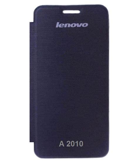 Flip Cover Lenovo A2010 Color Flip Cover For Lenovo A2010 Black Flip Covers