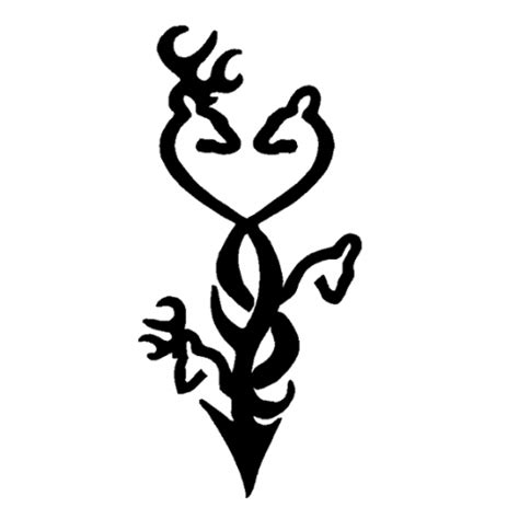 browning tribal tattoo deer browning logos clipart best