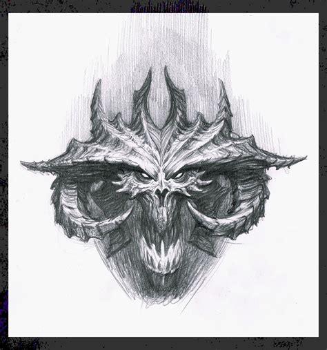 Diablo 3 Sketches by Diablo Jpg 1176 215 1260 Drawing Exercises