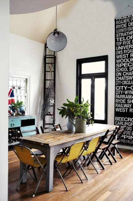 rustic industrial dining room modern rustic dining room panda s house