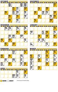 Bruins Schedule Schedule Bruinslife Boston Bruins Fan Site