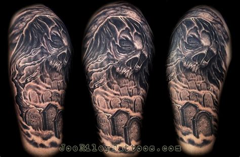 best tattoo shops in vegas grim reaper by joe tattoonow