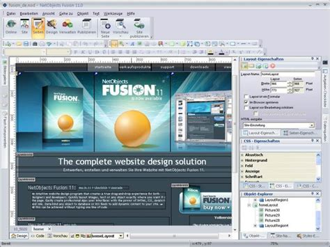 webpage layout design software 10 best free web design software