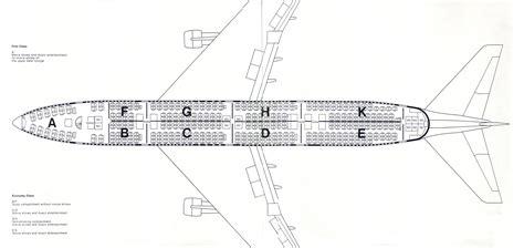 boeing 747 400 plan si鑒es boeing 747 400 seating plan images