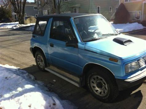 sell used 4x4 geo tracker completely redone in new york