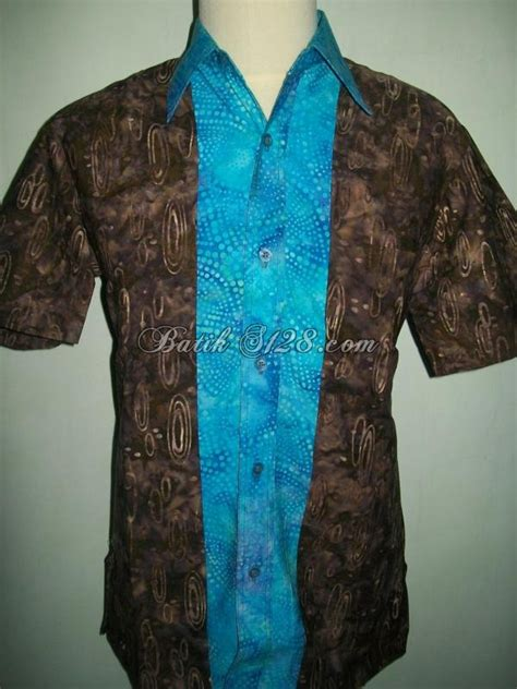 baju batik pria modern eksklusif murah gaul terbaru