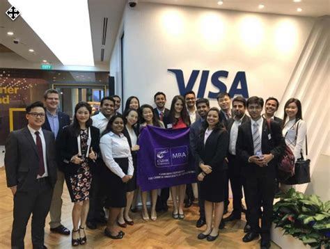 For Mba Graduates With No Experience In Singapore by Sfa And Visa Welcome Cuhk Mba Students To The Local