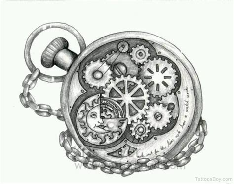 clock design tattoo clock tattoos designs pictures page 8