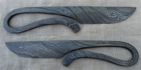 pattern welding knife pattern welded womans knife by jarkko1 on deviantart