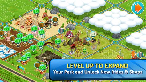 theme park ea app shopper theme park games