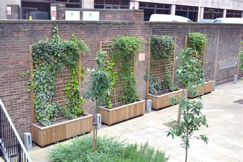 Roof Planters by Diplomat Roof Garden Planters Design