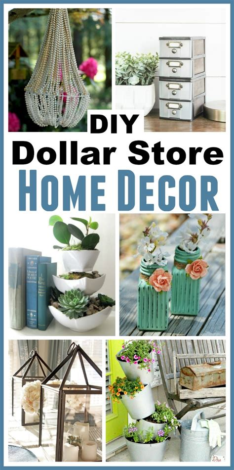 diy dollar store home decorating projects inspiration